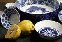 Delfts blauw en blauw serviesgoed / Delfts blauw en blauw serviesgoed