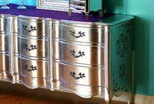 Mobiliario pintado