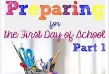Back to School / teaching ideas for back to school