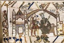 Bayeux Tapestry / An amazing Work of Art (some of which had been lost, then recreated almost a 1000 years later !) about an equally amazing, if traumatic, period of British history