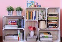 Idee d'arredamento / Idee semplici, originali e funzionali per arredare con stile e personalità ogni angolo della casa.