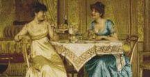 Soulacroix / Frédéric Soulacroix (1858 - 1933) è stato un pittore Francese - Italiano. Gli studi all'Accademia di Belle Arti di Firenze lo avvicinarono al realismo italiano, che interpretò raccontando nei suoi dipinti un passato luminoso e vivido.