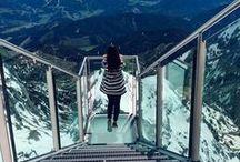 Горы / Как бы я порой хотела сюда убежать... Чтобы меня никто не нашёл... Чтобы быть ближе к небу... Чтобы быть свободной!..