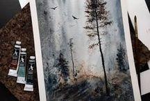 Уроки рисования/Палитра цветов / Иногда так хочется почиркать карандашом по альбомному листу