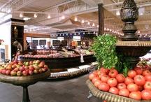 Interior – food market // Intérieur – alimentation