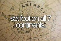 ❥B u c k e t l i s t• / Places I want to go..