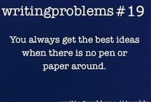 """Writers Block / Helpful tips, story ideas, and other """"Novel"""" Ideas:)"""