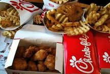 Chick-Fil-a  ♥ / My favorite Fast food place ever!!! Especialy since I work there!