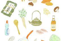 Art   Food Illustration