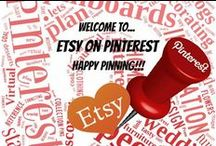 Etsy On Pinterest / Welcome to Etsy On Pinterest, dedicated to Etsy handmade, supplies, treasuries, vintage etc.!  To pin on this board, you need to be an Etsy shop owner & you must follow this board to be added. Send me a message and I will add you. Once added you may add other Etsy Shop Owners. Contact me via my Etsy shop: http://LilCzechTreasures.etsy.com   #etsy #etsyshop #etsyshopowner #handmade #vintage My other board: https://www.pinterest.com/lilczechtreasur/pinterest-4-entrepreneurspin-exchange/