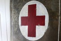 Little Red Cross Fetish / All manor of red crosses with which we can obsess.  / by Spirit and Idea