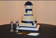 Wedding Cakes / Wedding cakes done by Kahn's Catering or outside sources.