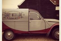 The Curry with Love van / Finally on the road (again)!