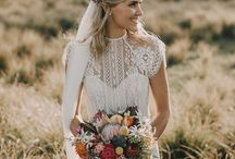 Rustic Wedding / Wedding Inspiration and decor ideas | wedding inspiration | rustic wedding styling | outdoor wedding | rural wedding decor