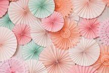 Paper Wedding / Inspiration and decor ideas