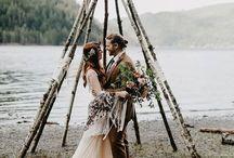 Boho Wedding / Wedding Inspiration and decor ideas | boho wedding styling | wedding inspiration | boho bride style