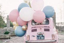 Rose Quartz Serenity Wedding / Wedding Inspiration | Wedding Decor | Watercolour wedding stationery | hand painted wedding invitations | rose quartz | Pantone 2016 | serenity | pink and blue colour scheme