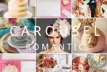 Pink, green and gold wedding / Inspiration and decor ideas
