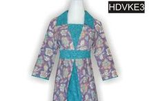 Koleksi dress batik pekalongan / baju batik dress untuk remaja, cocok untuk seragam kantor, ataupun untuk pesta. Model terbaru dengan variasi - variasi cantik.