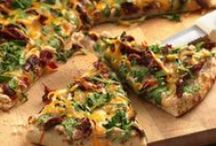 Pizza and Pasta Recipes / Recipes which feature pizza and/or pasta as their main ingredient.