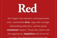 Rosso - Red - Rouge- / Colore Rosso - red-rouge