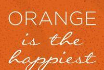 Orange - Arancione - colore / Arancione - all things orange -