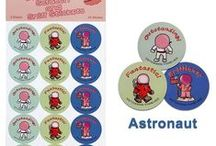 Future Professional Scratch and Sniff Stickers™ / Stickers To Inspire Future Professionals™ It's not surprising that many of today's professionals – from engineers and astronauts to firefighters and doctors –