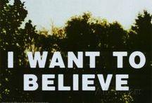 U.F.O. -I WANT TO BELIEVE