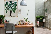 Studio / Studio design | interior design | work space | studio inspiration