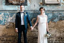 Contemporary Wedding / Wedding Inspiration and decor ideas | wedding styling | contemporary wedding | Wedding design | wedding decor | marble | copper | greenery | asylum Peckham | acrylic