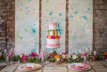 Confetti: contemporary wedding stationery / Inspiration and decor ideas