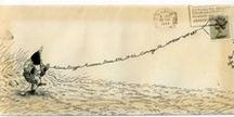 Pretty Post / envelope art: quirky, humorous and beautiful. The lost art of decorated envelopes.