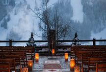 Apres Ski wedding / Either on the slopes or bringing a taste of the mountains to your venue. Here are the best ski themed wedding ideas