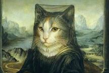 CART - Cat Art / Cats + Art - Cat paintings