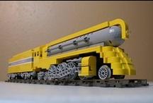 Lego. Trains. Perfect combination.