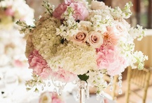 Centerpieces / Flowers and Candles / by Charming Events of Charleston