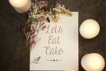 Wedding Cakes / by Charming Events of Charleston