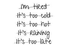 Run / Se puoi correre una volta, corri due. Se puoi correre un chilometro, corrine dieci. Corri più veloce. Sempre più lontano.