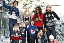 Christmas Jumper Day! / Celebrity spoof wearing Sue Stratford's Christmas sweater in celebration of Save the Children's Christmas Jumper Day!  Sweaters are taken from 'Merry Christmas Sweaters to knit' which is available to buy here: www.searchpress.com/book/9781782210115/merry-christmas-sweaters