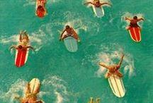SURFER + BEACH