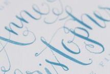 Calligraphy, Fonts and Words