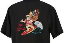 Men's Hawaiian Christmas Shirts