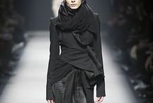 Gothic Couture / Beauty found in dark fashion and edgy shapes