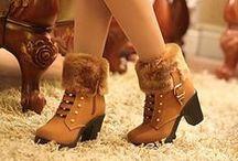 Сапожки и ботинки | Boots / Женские сапожки, бутильоны и ботинки | Woman boots
