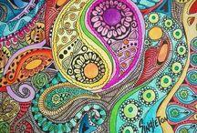 Hippie drawings