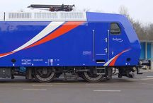 My work: Locomotive livery design (crearail.com) / I now give color to the railways.
