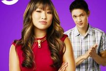 gLee's Tike/Favs Tina & Mike / Glee Cast Members Jenna Ushkowitz & Harry Shum Jr / by Tammy Earls