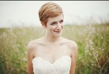 Wedding hair (short)