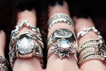jewels / beautiful fingers and bling
