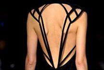 Rückenausschnitte